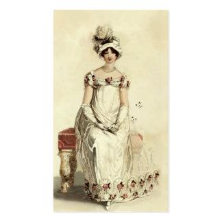 """""""Srta. Bennet"""" en la crema Tarjetas De Visita"""