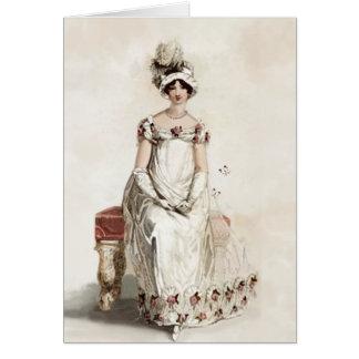 """Srta. Bennet"" le agradece Tarjeta De Felicitación"