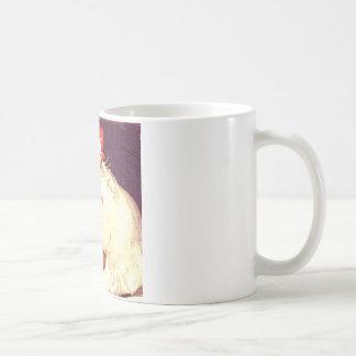 Srta. blanca Priss del gato Taza De Café