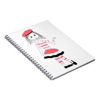Srta. bonita Fashionista Cuadernos