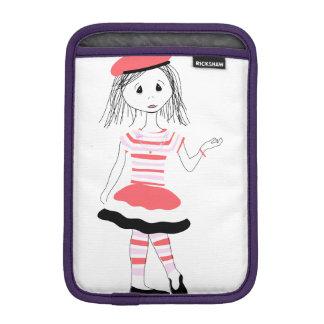 Srta. bonita Fashionista Funda Para iPad Mini