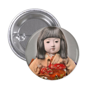 Srta. Chosen Button Pin Redondo De 1 Pulgada