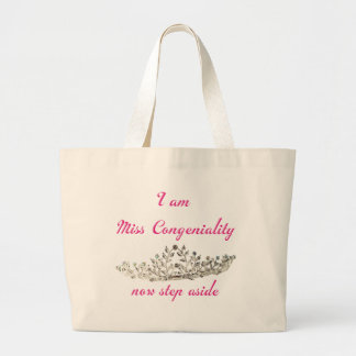 Srta. Congeniality Bolsa Tela Grande