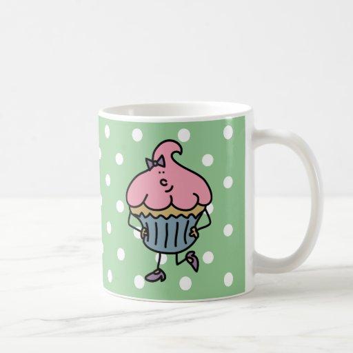 Srta. Cuppy Cake Mug de Lil Tazas De Café