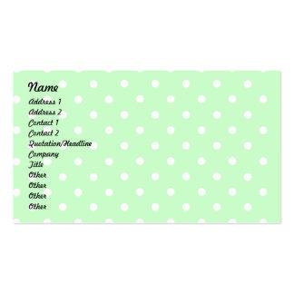Srta. Cuppy Cake Profile Card de Lil Tarjetas De Visita