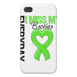 Srta diaria My Brother del linfoma I iPhone 4 Funda