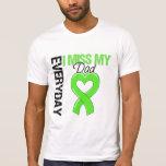 Srta. diaria My Dad del linfoma I Camiseta