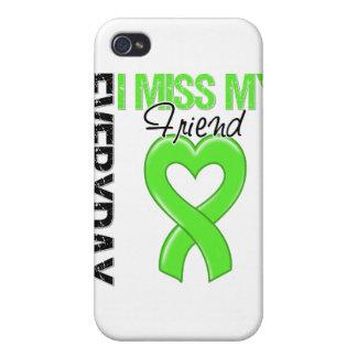 Srta diaria My Friend del linfoma I iPhone 4 Fundas