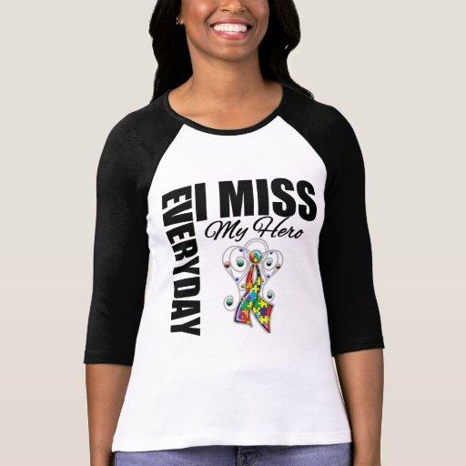 Srta. diaria My Hero Autism de I Camisetas
