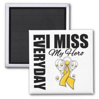 Srta. diaria My Hero Childhood Cancer de I Imán Cuadrado