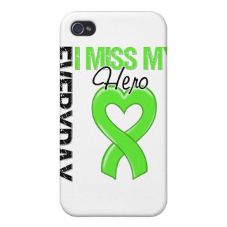 Srta diaria My Hero del linfoma I iPhone 4 Cárcasa