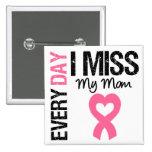 Srta. diaria My Mom del cáncer de pecho I Pins