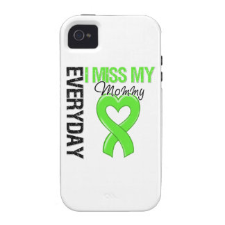 Srta diaria My Mommy del linfoma I Case-Mate iPhone 4 Carcasas
