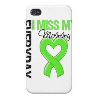 Srta diaria My Mommy del linfoma I iPhone 4/4S Carcasa