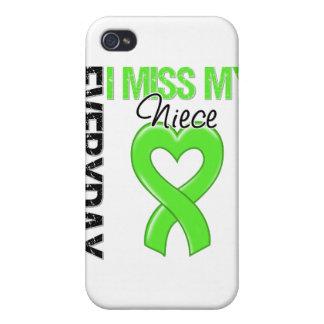 Srta diaria My Niece del linfoma I iPhone 4 Carcasa