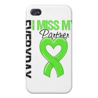 Srta diaria My Partner del linfoma I iPhone 4 Carcasa