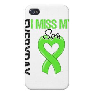 Srta diaria My Son del linfoma I iPhone 4 Carcasa