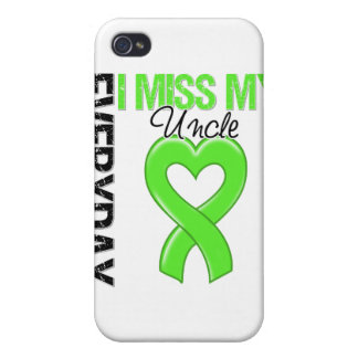 Srta diaria My tío del linfoma I iPhone 4 Cárcasa