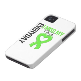 Srta diaria My Wife del linfoma I iPhone 4 Case-Mate Protectores