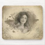 Srta. Doro Mousepad de la actriz del Victorian Alfombrillas De Ratones