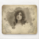 Srta. Doro Mousepad de la actriz del Victorian Tapetes De Raton
