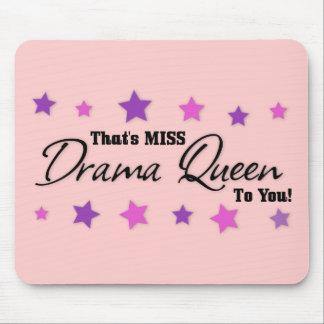 Srta. Drama Queen To You Alfombrillas De Raton