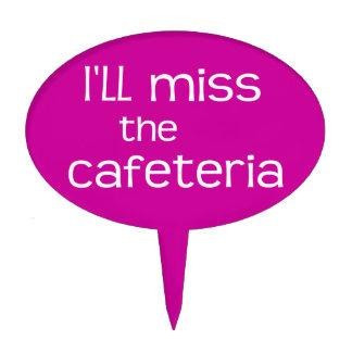 Srta. el ROSA de la cafetería - refrán divertido Decoraciones Para Tartas