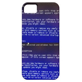 Srta. esa pantalla azul exasperanda en su I6 iPhone 5 Case-Mate Cobertura