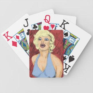 Srta fabulosa M Blonde Bombshell Barajas De Cartas