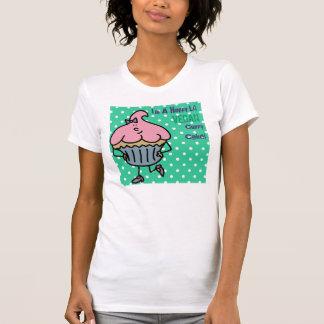 Srta. feliz Cuppy Cake Shirt de Lil del vegano Polera