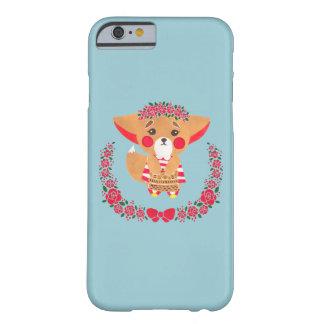 Srta. Fennec Fox Funda De iPhone 6 Barely There