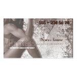 Srta. Fitness III - tarjeta de visita