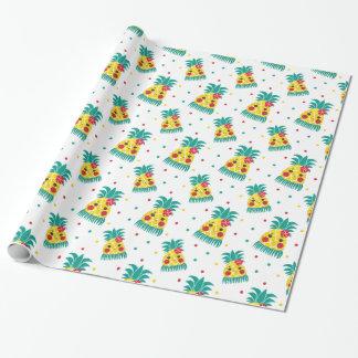 Srta. Hawaiian Pineapple Papel De Regalo