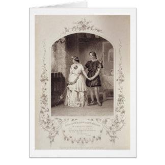 Srta. Jenny Marston como Perdita y Sr. F. Robinson Felicitación