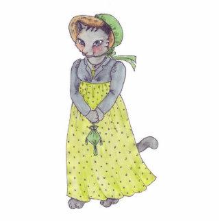 Srta. Kitty Magnet Escultura Fotografica