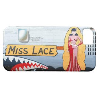 Srta. Lace B-24 Nose Art (fuselaje del vintage) Funda Para iPhone SE/5/5s