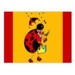 Srta. Ladybug Postal