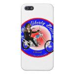 Srta. Liberty Belle iPhone 5 Cárcasas