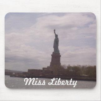 Srta. Liberty Alfombrillas De Raton
