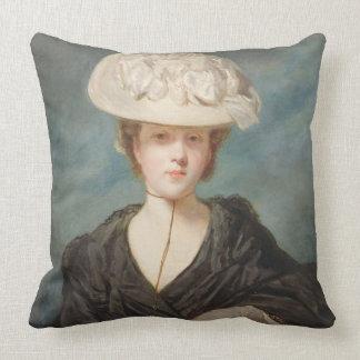 Srta. Maria Hickey, 1770 (aceite en lona) Cojín