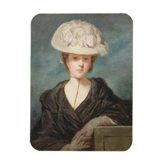Srta. Maria Hickey, 1770 (aceite en lona) Imanes De Vinilo
