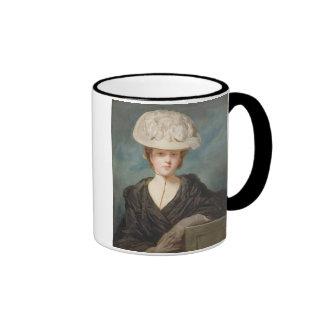 Srta. Maria Hickey, 1770 (aceite en lona) Taza De Dos Colores
