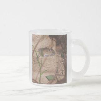 Srta. Mouse de la mañana. Taza De Café Esmerilada