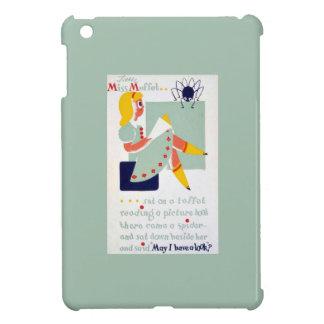 Srta Muffet WPA de la poesía infantil de la mamá iPad Mini Coberturas