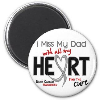 SRTA. MY DAD del cáncer de cerebro I Imán Redondo 5 Cm