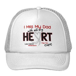 Srta. My Dad del cáncer de pulmón I Gorras