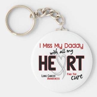 Srta. My Daddy del cáncer de pulmón I Llavero