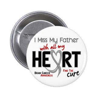 SRTA. MY FATHER del cáncer de cerebro I Pin Redondo 5 Cm