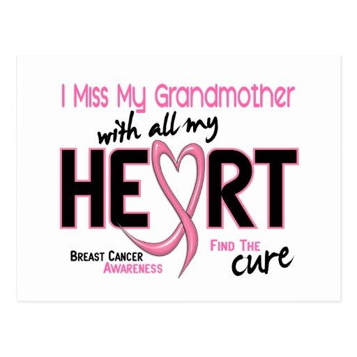 Srta. My Grandmother del cáncer de pecho I Postal