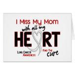 Srta. My Mom del cáncer de pulmón I Felicitación